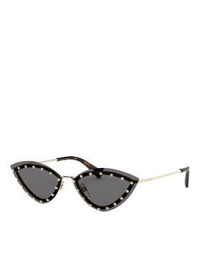 VALENTINO Sonnenbrille VA2033 mit Schmucksteinbesatz