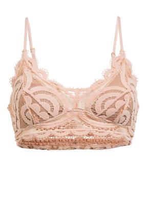 PILYQ Bralette-Bikini-Top PINK SANDS SWEETHEART