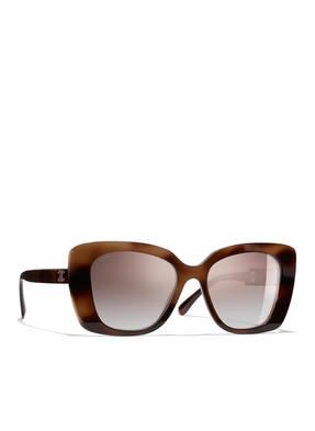 CHANEL Sunglasses Quadratische Sonnenbrille