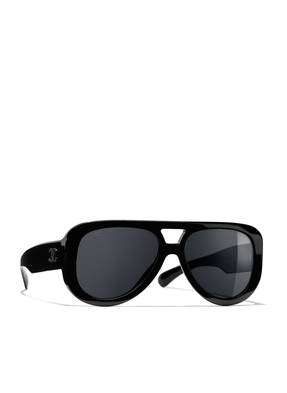 CHANEL Sunglasses Pilotensonnenbrille