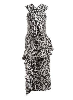 BY MALENE BIRGER Kleid AMESIA mit Volantbesatz