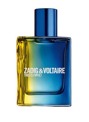 ZADIG & VOLTAIRE Fragrances THIS IS LOVE! POUR LUI