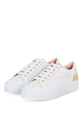 AGL ATTILIO GIUSTI LEOMBRUNI Sneaker mit Nietenbesatz
