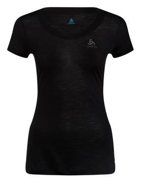 odlo Funktionswäsche-Shirt NATURAL + LIGHT mit Merinowolle