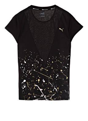 PUMA T-Shirt METAL SPLASH mit Mesh-Einsatz