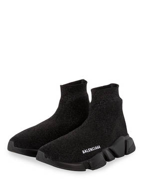 BALENCIAGA Hightop-Sneaker SPEED mit Glitzergarn