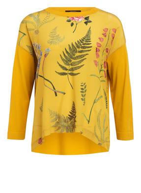 WEEKEND MaxMara Pullover CLOWN mit Seide im Materialmix