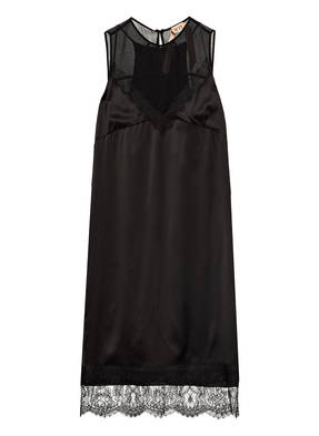N°21 Kleid mit Spitzenbesatz