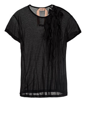 N°21 T-Shirt im Materialmix