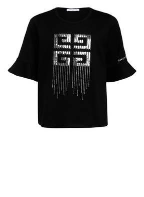 GIVENCHY T-Shirt mit Paillettenbesatz