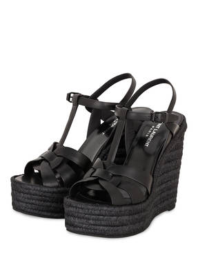SAINT LAURENT Plateau-Wedges TRIBUTE