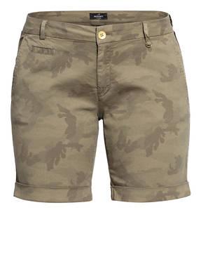 MASON'S Shorts JACQUELINE mit Galonstreifen