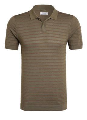 DSTREZZED Strick-Poloshirt Slim Fit