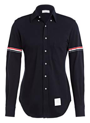 THOM BROWNE. Piqué-Hemd Extra Slim Fit