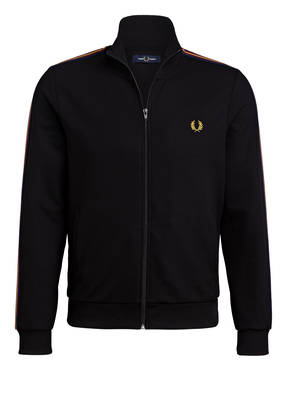 FRED PERRY Trainingsjacke mit Galonstreifen
