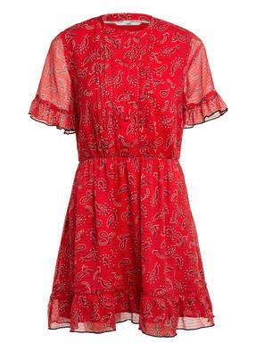 TOMMY JEANS Kleid mit Volantsbesatz