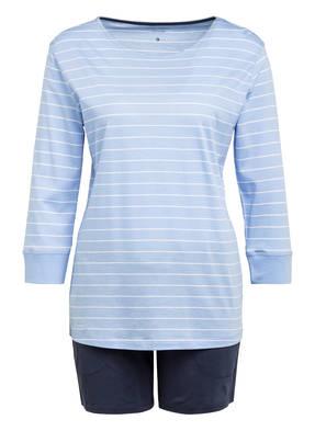 Marc O'Polo Shorty-Schlafanzug mit 3/4-Arm