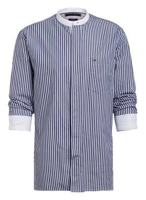 TOMMY HILFIGER Hemd Relaxed Fit mit Stehkragen