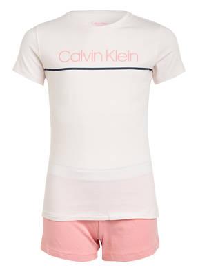 Calvin Klein Shorty-Schlafanzug CK RIB