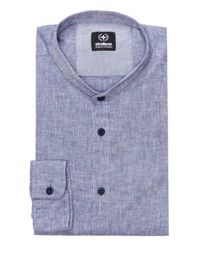 strellson Hemd CONELL Regular Fit mit Stehkragen und Leinen