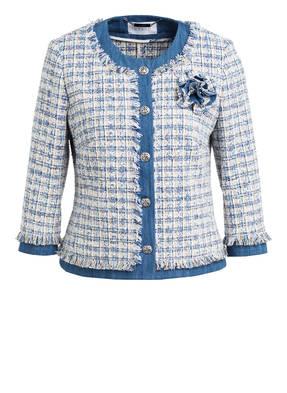 NVSCO Tweed-Blazer mit 3/4-Arm