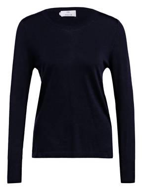ALLUDE Pullover mit Leinen
