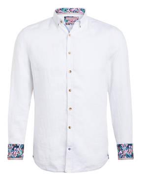 COLOURS & SONS Leinenhemd LIAM Extra Slim Fit