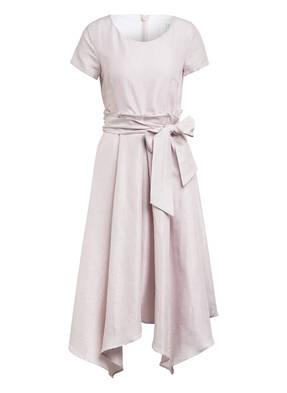 BARBARA SCHWARZER Kleid mit Leinen