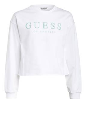 GUESS Sweatshirt mit Stickereien