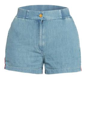 GUCCI Jeans-Shorts mit Leinen