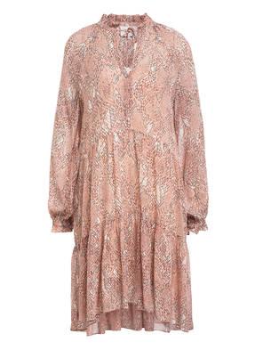 SECOND FEMALE Kleid CRAYON mit Rüschenbesatz