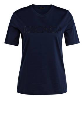 ESCADA T-Shirt ENELA mit Schmucksteinbesatz