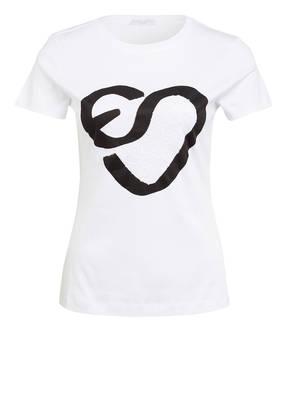 ESCADA SPORT T-Shirt ELAMINA mit Paillettenbesatz