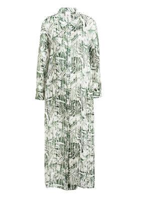 Mrs & HUGS Hemdblusenkleid aus Seide mit Glitzergarn