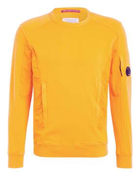 C.P. COMPANY Sweatshirt im Materialmix