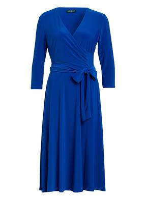 LAUREN RALPH LAUREN Kleid CARLYNA in Wickeloptik mit 3/4-Arm