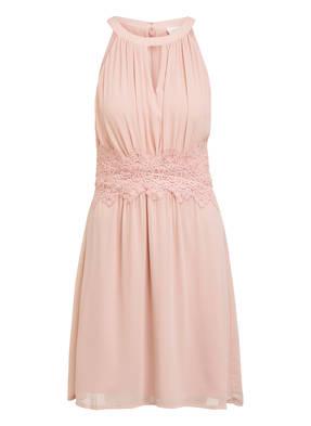 VILA Kleid mit Spitzenbesatz