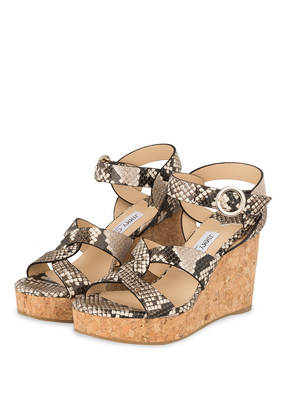 JIMMY CHOO Plateau-Wedges ALEILI 100