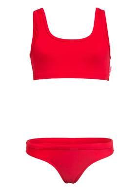 SEAFOLLY Bustier-Bikini SUMMER ESSENTIAL mit wasseraktivem Print