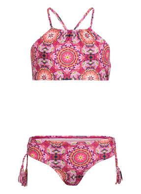 SEAFOLLY High-Neck-Bikini PAISLEY PARK
