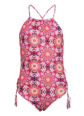 SEAFOLLY High-Neck-Badeanzug PAISLEY PARK