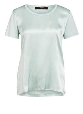 windsor. Blusenshirt aus Seide im Materialmix