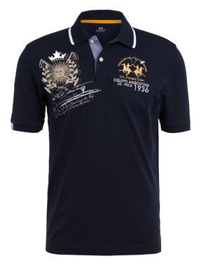 LA MARTINA Piqué-Poloshirt Regular Fit mit Stickereien