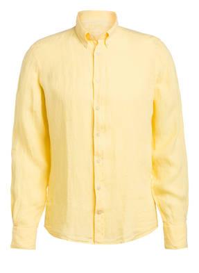 HACKETT LONDON Leinenhemd Slim Fit