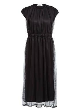 MONCLER Kleid mit Mesh-Besatz