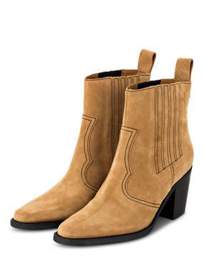 GANNI Cowboy Boots