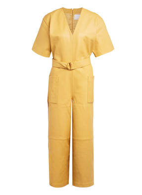 REMAIN BIRGER CHRISTENSEN Leder-Jumpsuit DALMINE