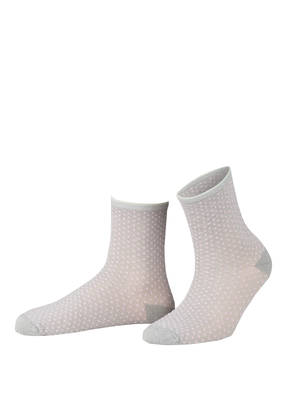 BECKSÖNDERGAARD Socken DINA SMALL DOTS COLL. mit Glitzergarn