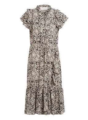MUNTHE Kleid ERNIE mit Volantbesatz