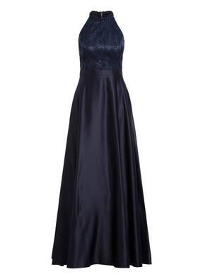 VM VERA MONT Satin-Abendkleid mit Paillettenbesatz